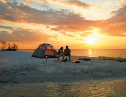 """Planning a Beach Camping Honeymoon"""