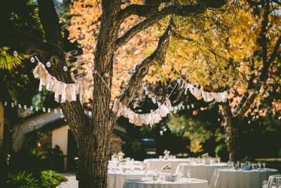 How to decorate your garden for your engagement party